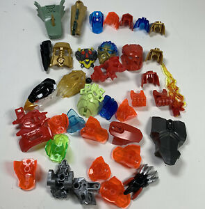 Lego Ninjago Ghost Robot Helmets Heads Dinosaur Claws Specialty Pieces Lot 0029