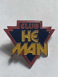 Vintage Club He Man Enamel Pin Badge MOTU