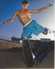 Monopatín Leyenda Rodney Mullen Firmado Auténtico 8X10 Foto C. Coa Almost