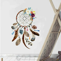 Dream Catcher Feather Boho Wall Sticker Nursery Decor Vinyl Decal Art Mural Gift
