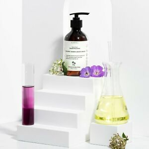 Vanilla Blanc Read/The/Label Hand Wash, Body Wash, Handcrafted Organic Skin Care