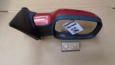 RENAULT MEGANE 2007 CC CONVERTIBLE OFFSIDE DRIVER ELECTRIC DOOR MIRROR RED TE876