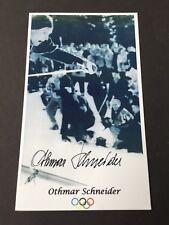 OTHMAR SCHNEIDER (†2012) Olympiasieger 1952 Ski Slalom signed Foto 9x15