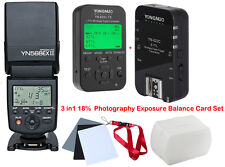 Yongnuo YN568EX II Speedlite + YN-622C Wireless TTL Trigger 1/8000s for Canon
