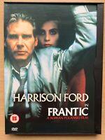 Frantic DVD 1988 Paris Enlèvement Thriller Classique Grand-écran En Snapper Étui