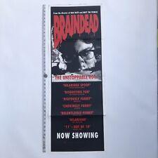 Peter Jackson's BRAINDEAD -Original 1992 Australian Long DAYBILL
