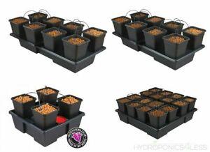 Origin IWS Wilma 4 8 System Hydroponics Self Watering Dripper Grow Complete Kit