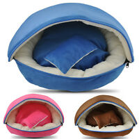 Warm Soft Pet Dog Cat Bed Basket House Kennel Doggy Cushion Mat Amazing 3 Colors