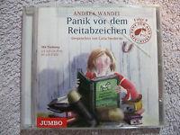 Hörbuch CD Andrea Wandel Panik Vor Dem Reitabzeichen Folge 09 Ein Pony Für Alle