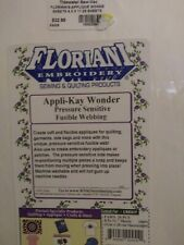 Floriani Appli-Kay Wonder Pressure Sensitive Fusible Webbing