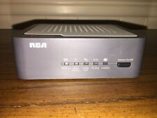 RCA DCM425 Cable Modem and Linksys BEFW11S4 Wireless-B Router with adapters