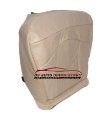 2002 Ford F150 Lariat Driver Bottom Replacement Leather Seat Cover Parchment TAN