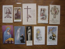 lot IMAGES PIEUSES RELIGIEUSES religiosa Catholique Holy card Santini
