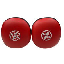 Shinobi Jumbo Punch Mitts - Black/Red