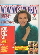 WOMANS WEEKLY  4 OCT 1988 FASHION SHOPPING BEAUTY FOOD LIFE TRAVEL HEALTH