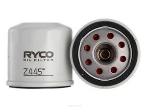 Ryco Oil Filter Z445 fits Nissan X-Trail 2.0 (T31), 2.5 (T32), 2.5 4x4 (T30),...