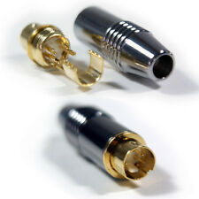 4 Pin Conector De Soldadura-Mini Din Macho-S-video Svhs Enchufe Redondo De Tv/dvd En Miniatura