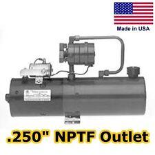 Hydraulic DC Power Unit - 4 Way Release Valve - 2.2 Gal - Pump, Motor, Reservoir