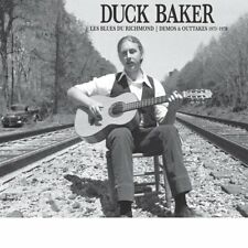 DUCK BAKER - LES BLUES DU RICHMOND: DEMOS AND OUTTAKES 1973-79   CD NEU