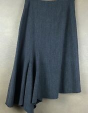 Lena Gabrielle Assymetrical Rayon Polyester Blend Skirt