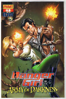 DANGER GIRL and the ARMY of DARKNESS #1 A, NM-, Campbell,2011, more AOD in store