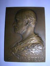 MEDAILLE EN BRONZE LOUIS PASTEUR 1822/1895.