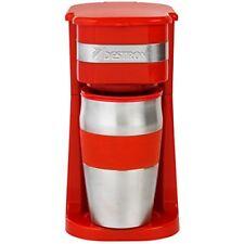 Bestron Acm111r Cafetiere personnel avec 1 Tasse 420 ml Cuisine