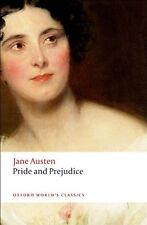 Pride and Prejudice (Oxford World's Classics) By Jane Austen, F .9780199535569