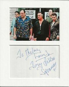 Tony Sirico the sopranos genuine authentic autograph signature and photo AFTAL