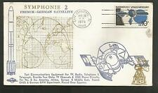 SYMPHONIE 2 FRENCH-GERMAN SATELLITE AUG 26,1975  CAPE CANAVERAL  ORBIT COVERS***
