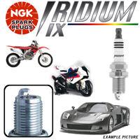 2 NGK IRIDIUM spark plugs Honda FJS600F Silver