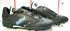 Soccer Football Shoes Cleats Vintage Fuego Mitre Black New Mens zise 10