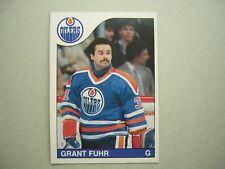 1985/86 O-PEE-CHEE NHL HOCKEY CARD #207 GRANT FUHR NM SHARP+ 85/86 OPC