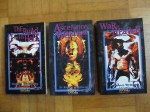 Mage The Ascension Roman Trilogie – The Horizon War Volume 1 2 3 – Dark Fantasy