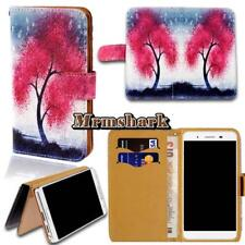 Flip Leather Wallet Card Stand Cover Case For Various Landvo Smartphones