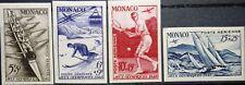 Monaco 1948 344-47 U NON DENTELE Olympics London OLYMPIA SKI VOILE TENNIS *