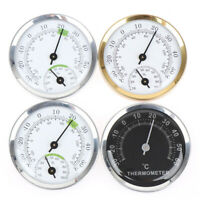 Wandmontage Temperatur Feuchtigkeitsmesser Thermometer Hygrometer Für SaunaraXUI