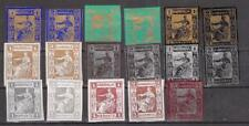 16 Different Hamonia Reprints MNH** Germany Privat Private Post Local