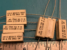 Power Resistor 10ohm 5w 5 7pcs Dale