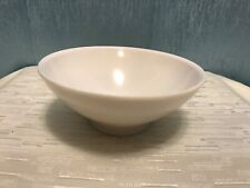 Boontonware Bowl Whit 5 inch Cereal Small Retro Vintage 3303-10 Made in Usa 1pc.