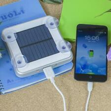 Mobile Phone Charger Portable Solar Car Window Square Suckers USB Power Bank New