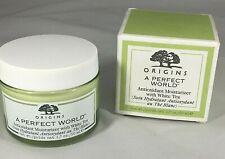 Origins A Perfect World Antioxidant Moisturizer with White Tea 1.7oz/50ml NIB