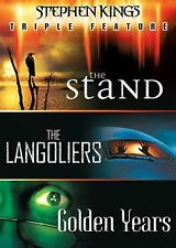 Stephen King Triple Feature: The Stand/The Langoliers/Golden Years DVD 2017 NEW