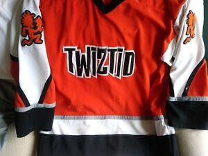 Twiztid Fright Fest 2X  hockey jersey rare icp oop htf psychopathic