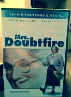 Mrs Doubtfire, (Unopened) Robin Williams, (Behind-the Seams Edition DVD)