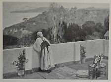 """Evening"" by John Lavery. The Studio, 1908."
