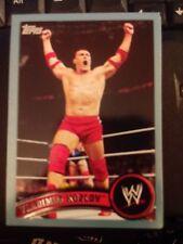 2011 Topps WWE Wrestling BLUE #43 Vladimir Kozlov #d 0307/2011
