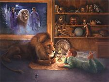 Lynn Lupetti THE LIONHEARTED Chronicles of Narnia Aslan S/N Limited Edition RARE