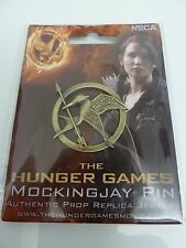 NECA NEW Hunger Games Mockingjay Pin Katniss Authentic Prop Brooch Bird Jewelry