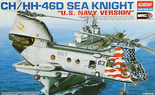 ACADEMY 1:48 ELICOTTERO CH/HH-46D SEA KNIGHT U.S. NAVY VERSION 12207
